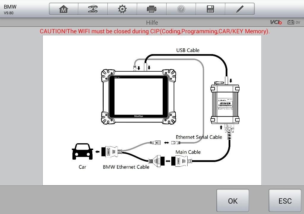 programmierungs adapter f r bmw f serie modelle autel shop der online shop f r obd kfz. Black Bedroom Furniture Sets. Home Design Ideas
