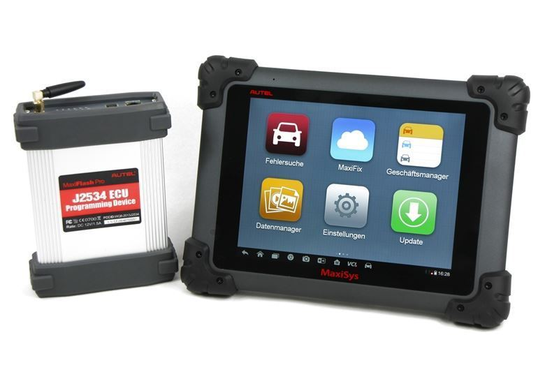 "AUTEL MAXISYS MS908S PRO Diagnosegerät 9,7"" LED Display Tablet Bluetooth Wi-Fi"